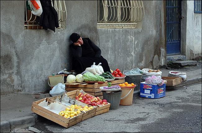 Image result for уличная торговля в Тбилиси фото