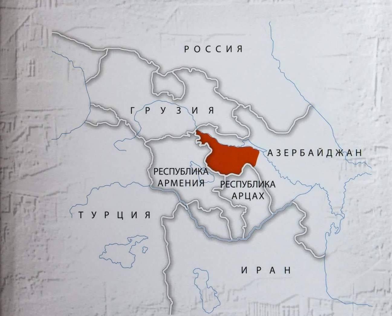 «Северный Арцах»: армянские территориальные претензии идут в направлении Грузии и Тбилиси!