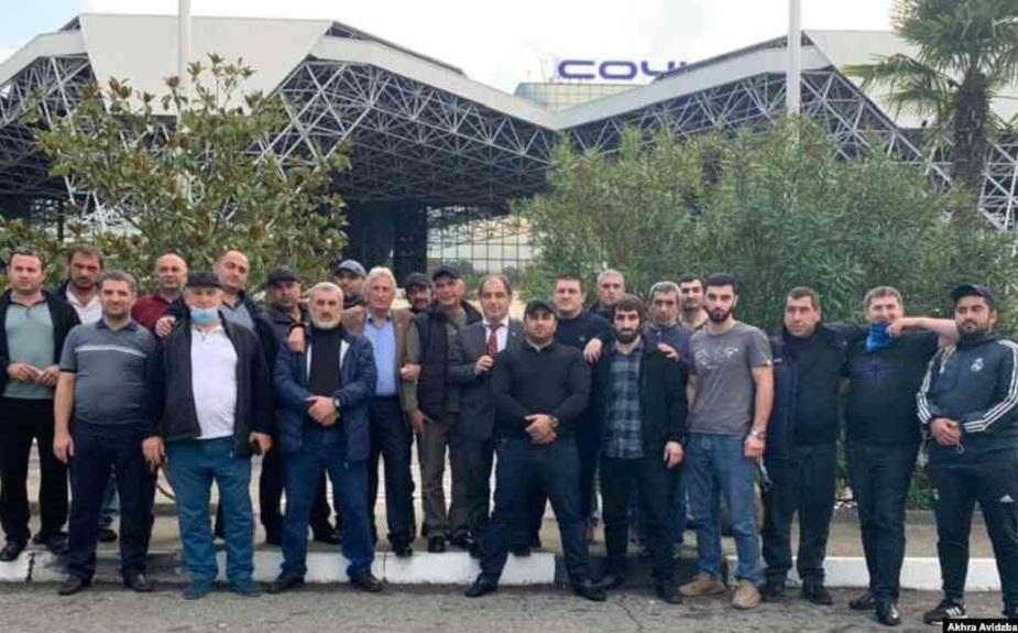 «Баграмяновцы» из Абхазии едут «спасать Арцах»-
