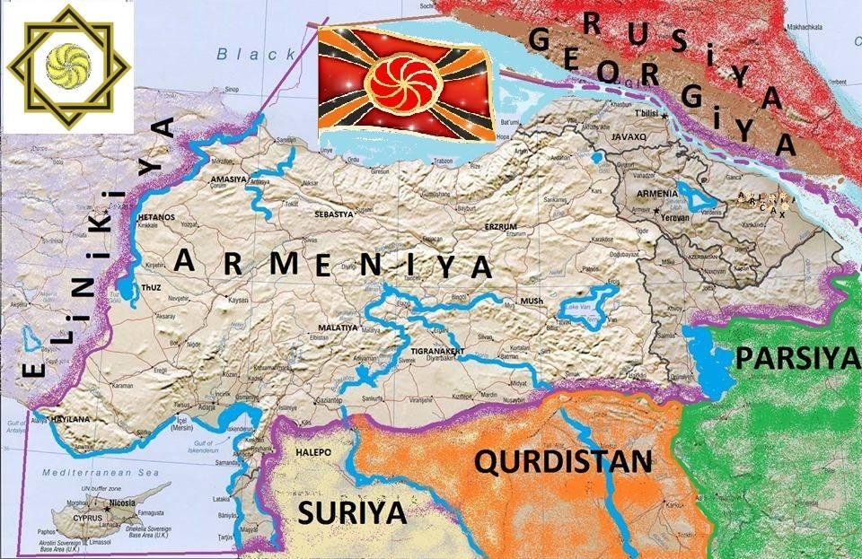 Картинки по запросу карта великой армении